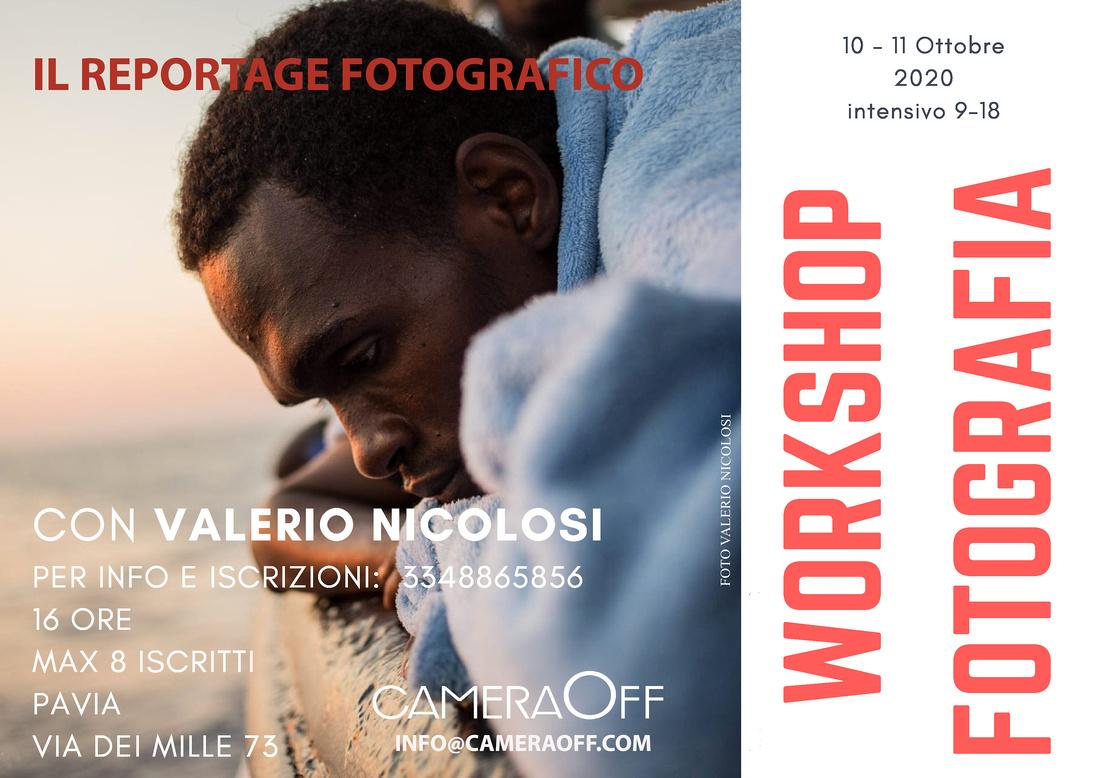 workshop fotografia Pavia Valerio Nicolosi
