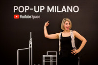 Youtube Pop Up Space Milano